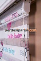 Hello Baby Çocuk Zebra Perde