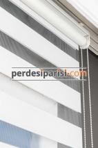 İpeksi Beyaz Bambu Zebra Perde