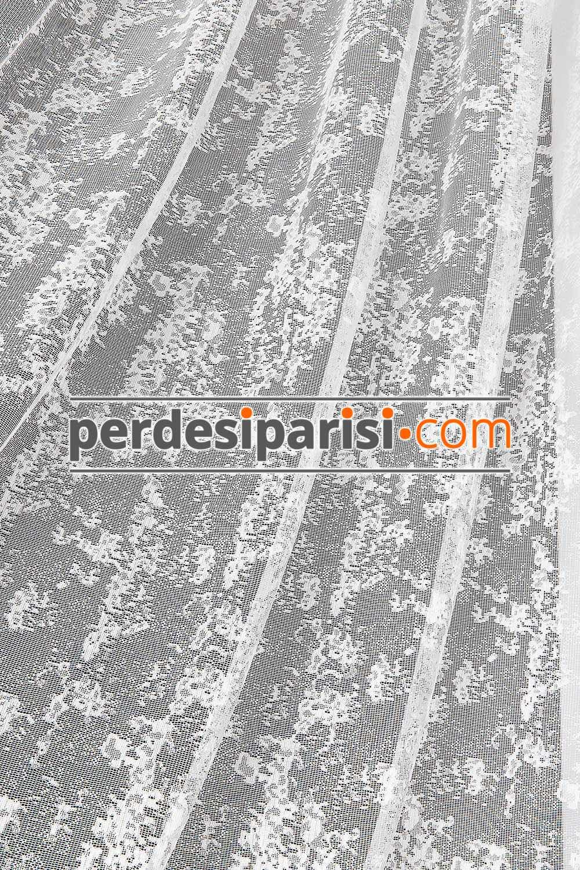 Granit Desen Dantel Tül Perde