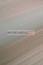 Marbella Pudra Geniş Plise Zebra Perde