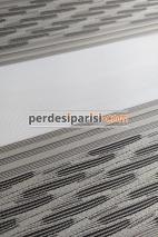 Simena Vizon Plise Desenli Zebra Perde